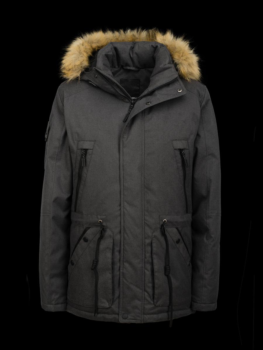 Куртка зимняя мужская Merlion MIKE (серый) цвет Серый купить в ... 0f98dd6ad7dc6